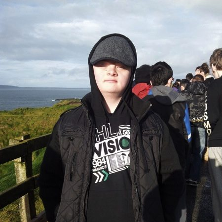 JSCP student from Desmond College Newcastlewest on Geography Field Trip to Ballybunnion County Kerry