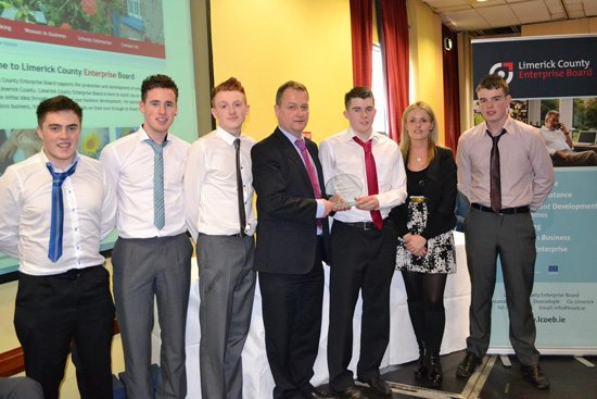 Desmond College Student Enterprise Award 2013 winners
