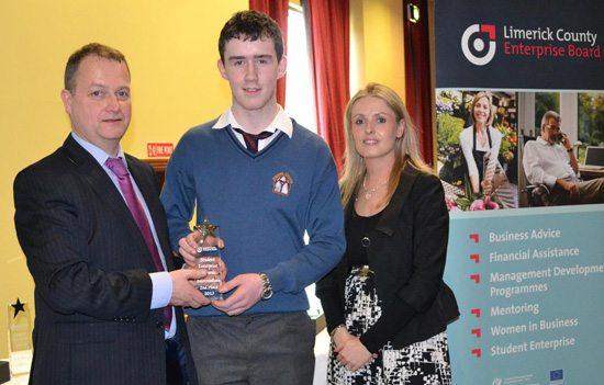 Desmond College Student Enterprise Award 2013 winner