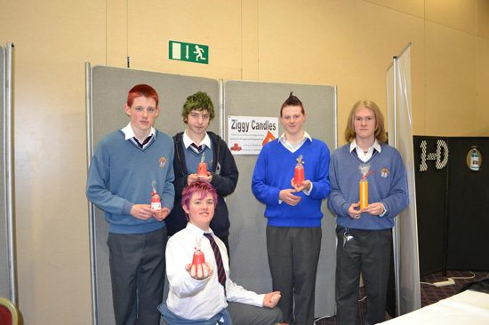 Desmond College Student Enterprise Award 2013 competitors : ziggy candles