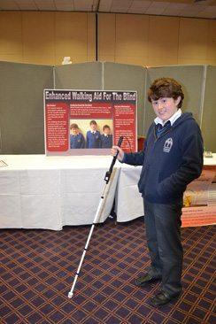 Desmond College Student Enterprise Award 2013 competitors : enhanced walking aid for blind