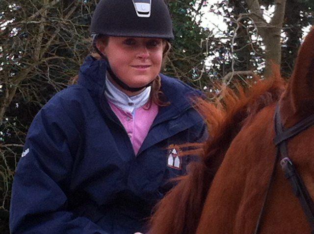 Desmond College Equestrian Team member