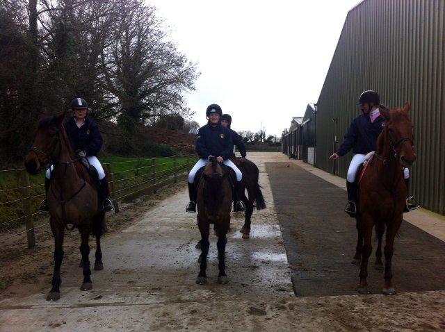 Desmond College Horse Riding Team