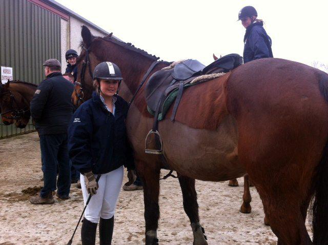 Desmond College Horse Riding Team at Clonshire Adare