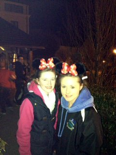 Desmond College students in Euro Disney