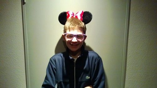 Desmond College Student at Euro Disney