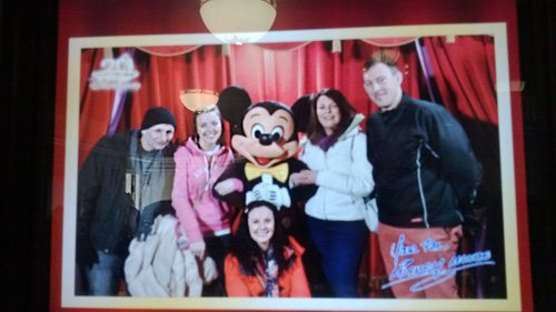 Desmond College visiting EuroDisney