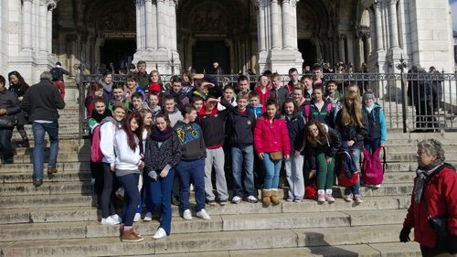 Limerick School visit Paris 2013