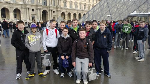 Parisian Trip by the Desmond College students
