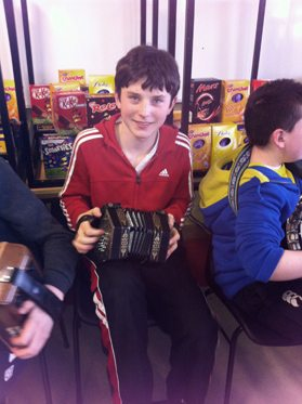 Musician at the First Year Ceili 2013