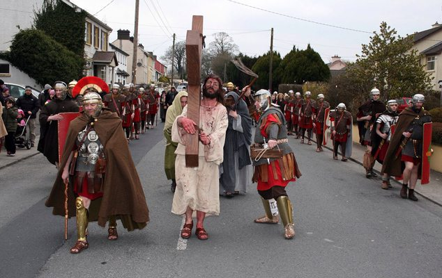 Way of the Cross , Good Friday 2013