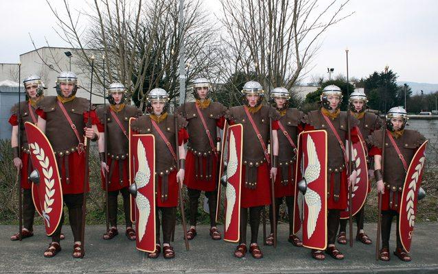 Desmond College Roman Soldiers
