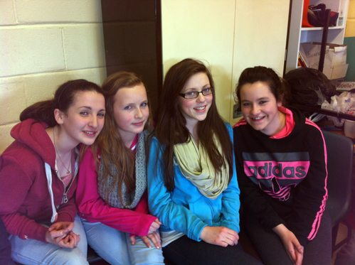 First Year Students Enjoy Ceili and Non Uniform Day