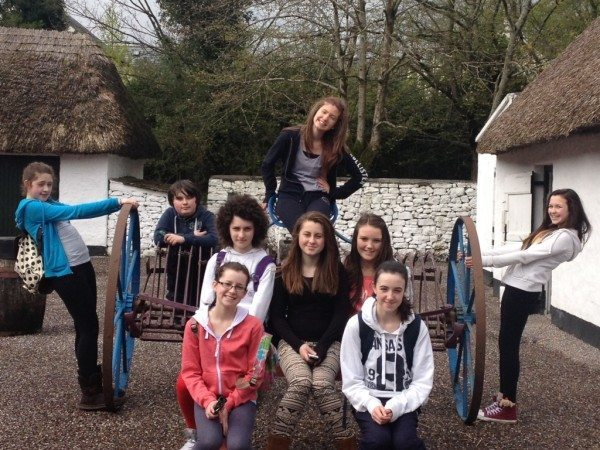 First Years Visit Bunratty on History Tour 2013