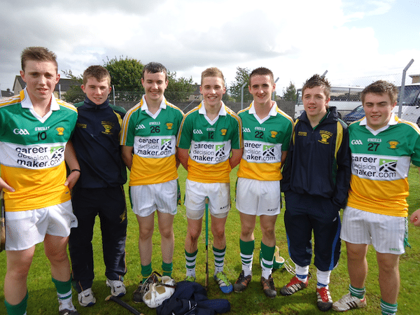 Desmond College's Excellent Harty Cup Players 2013