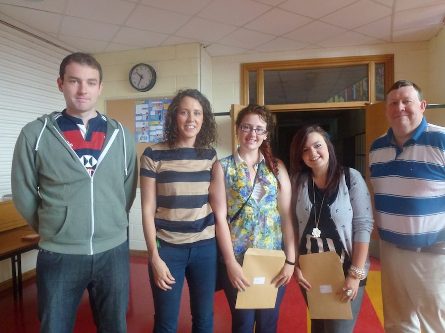 2012 - 2013 Desmond College Leaving Certificate Results