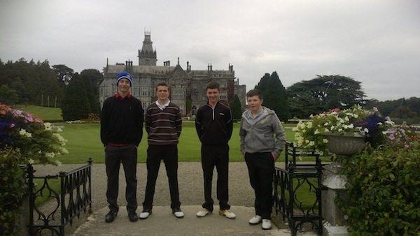 Desmond College: Adare Golf 2013
