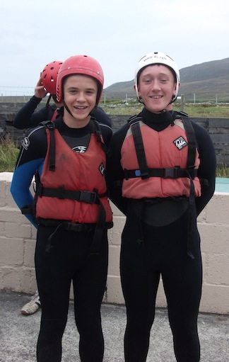 Transition Year Achill Trip September 2013