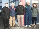 Desmond College Staff, Local Business and Sporting representatives at the TY SADS campaign launch