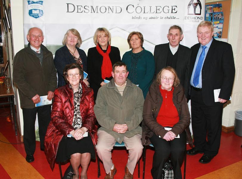 Past Pupils and Guests were invited to celebrate Desmond College's involvement with the Competition for 50 years
