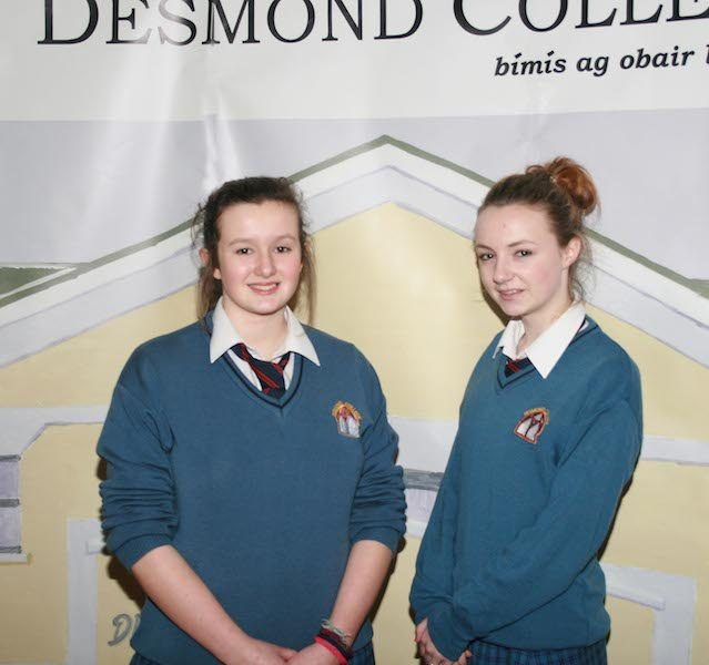 Desmond College students greeted past pupils and guests, who also participated in the Young Scientist competition