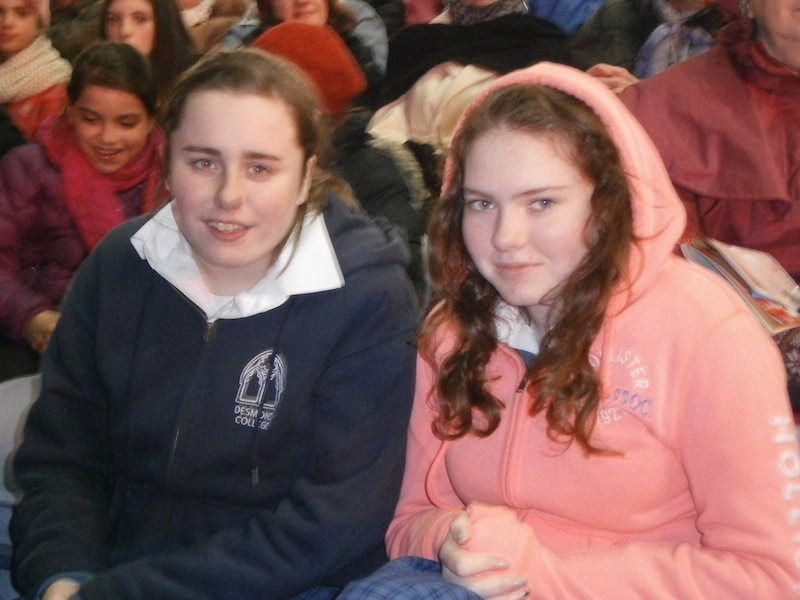 Desmond College Students in Croagh Park
