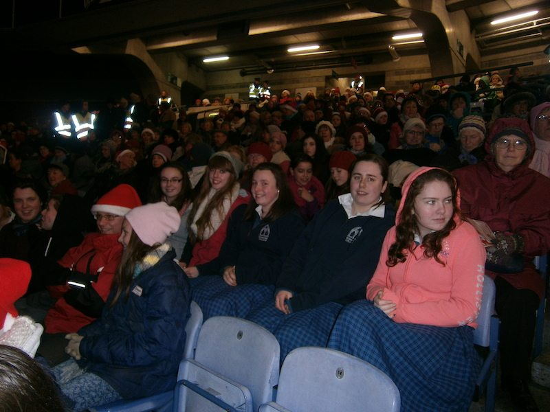 Croagh Park's Stars, Choirs and Carols