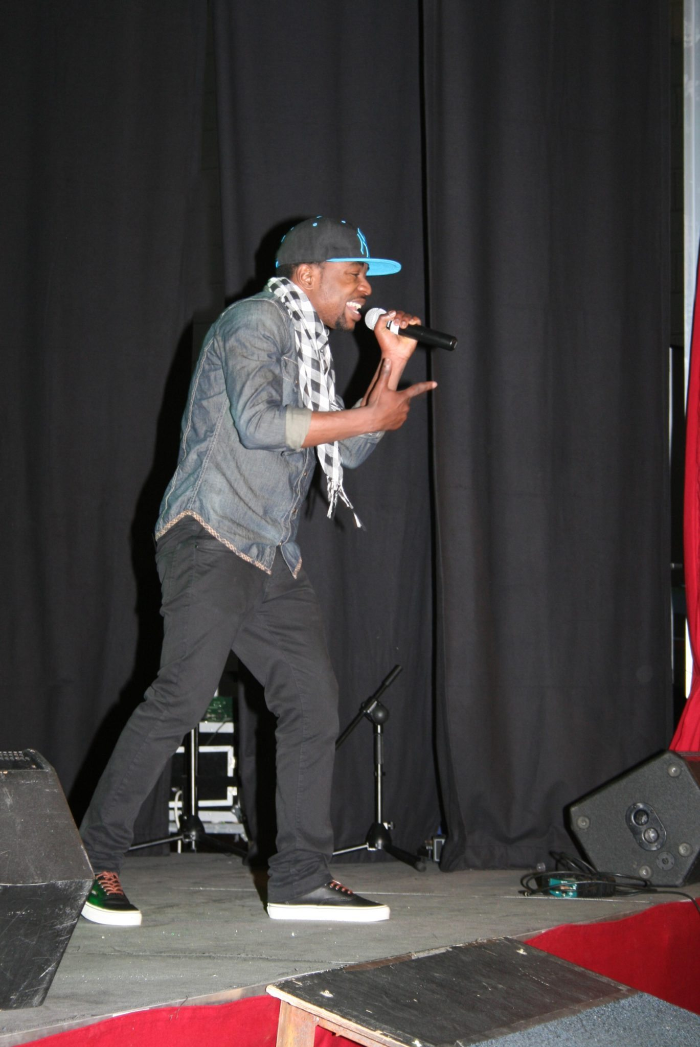 Desmond College Students performing in the Desmond Factor 2014