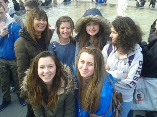 Students from Desmond College enjoying School Trip 2014