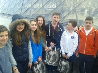 Newcastle West Students in Paris 2014