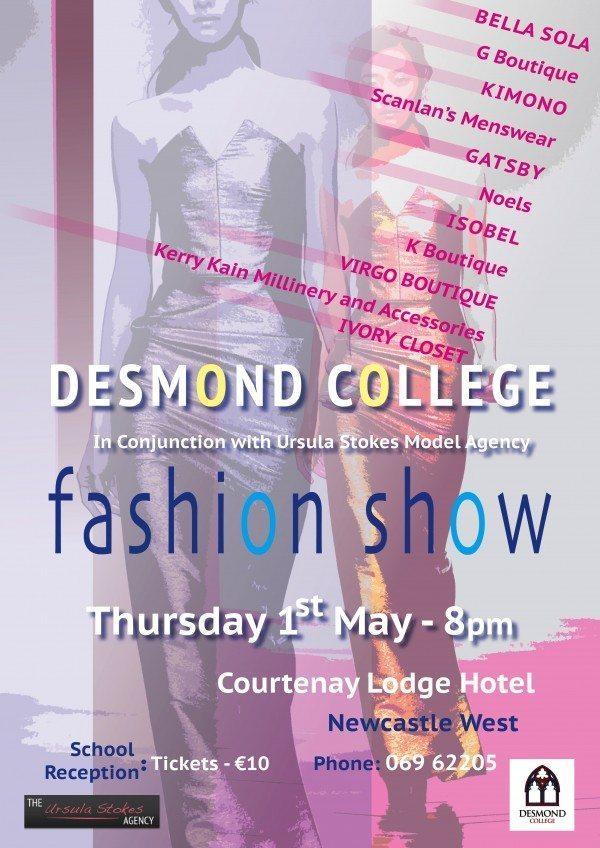 Fashion Show 2014 : Desmond College