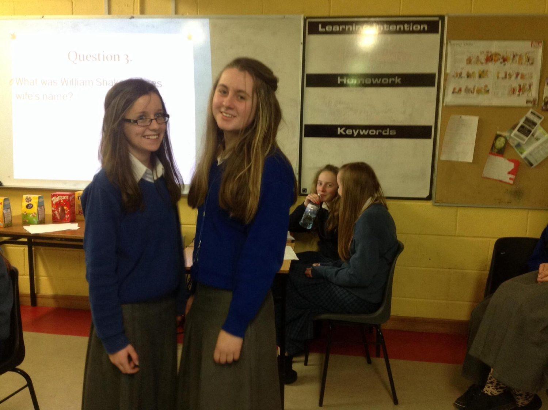second year desmond college students fund raising charity quiz