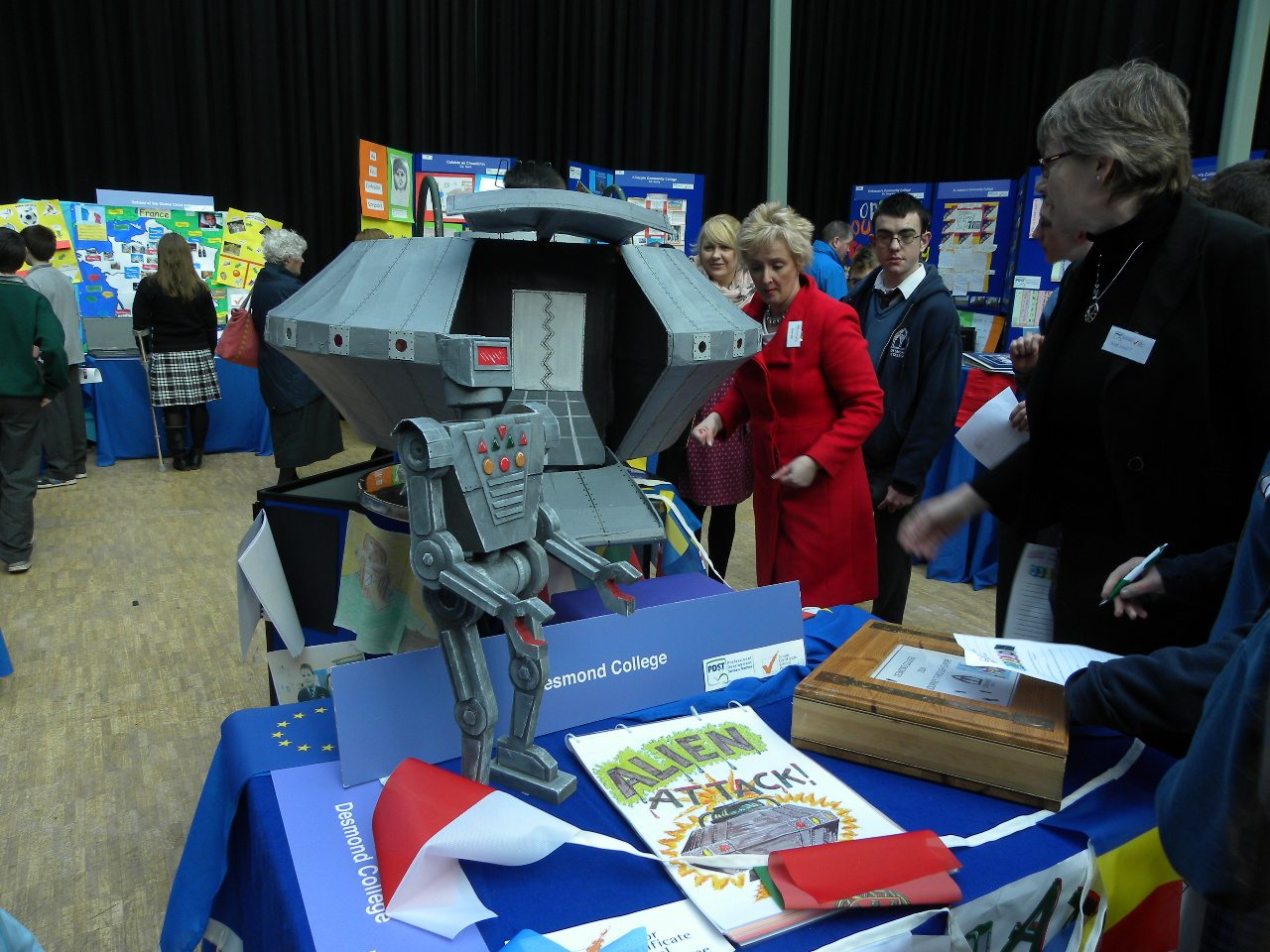 Desmond College 2013-2014 JSCP at the Make a Book Competition in Cork