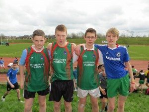 Limerick and Clare ETB Sports Day First Year Boys Relay