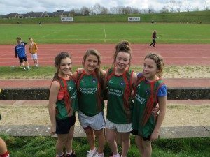 Limerick and Clare ETB Sports Day First Year Girls
