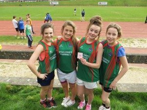 Limerick and Clare ETB Sports Day First Year Girls Relay