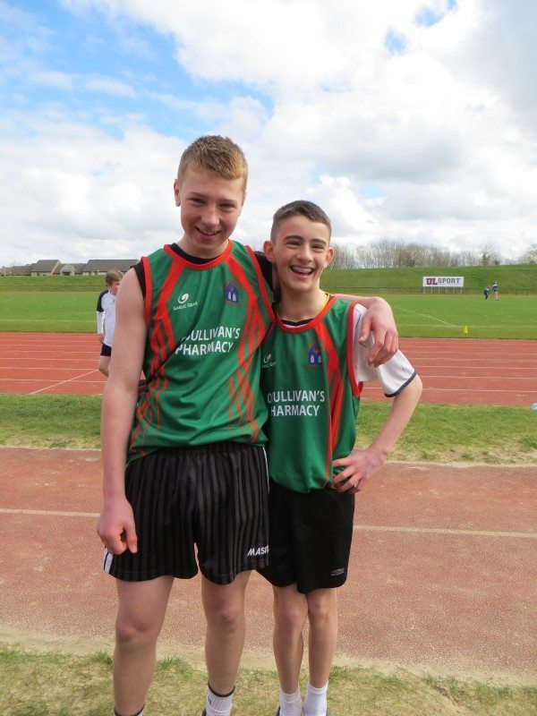 Limerick and Clare ETB Sports Day Long Jump Boys