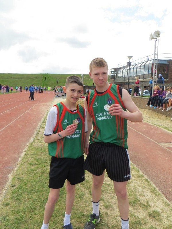 Limerick and Clare ETB Sports Day Long Jump Medal Winners