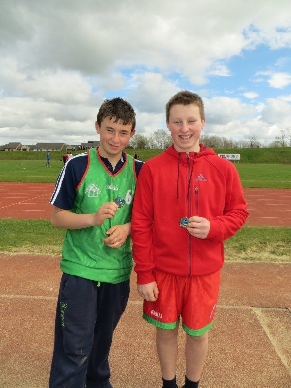 Limerick and Clare ETB Sports Day Shot Put Boys Medal