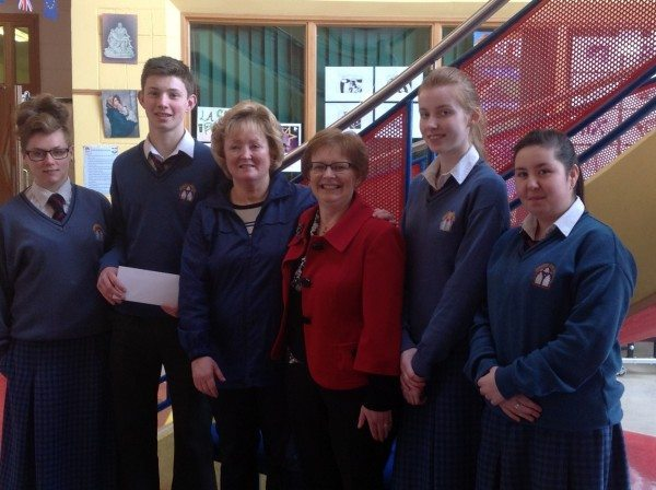 Non Uniform Day 2014 Presentation to Catherine Kirby and Margaret Martin for Chernobyl Project
