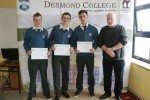Desmond College 3rd year and 5th year awards