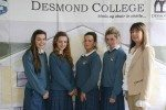 Desmond College 5th year and 3rd year awards