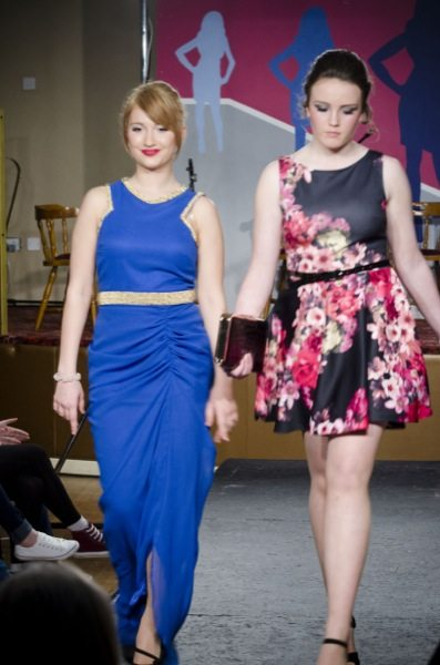 Desmond College Staff and Students Participating in the Desmond College Fashion Show 2014