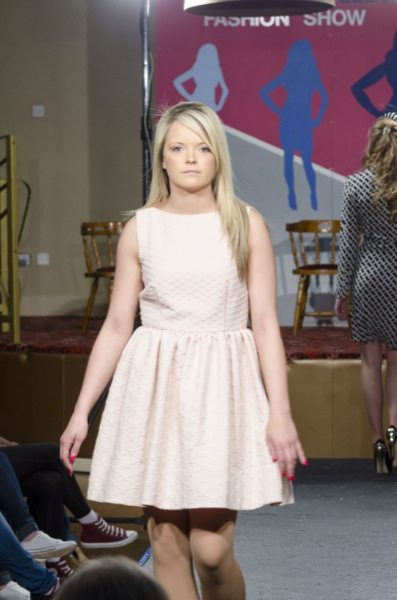 Desmond College Students Modelling at the Desmond College Fashion Show 2014