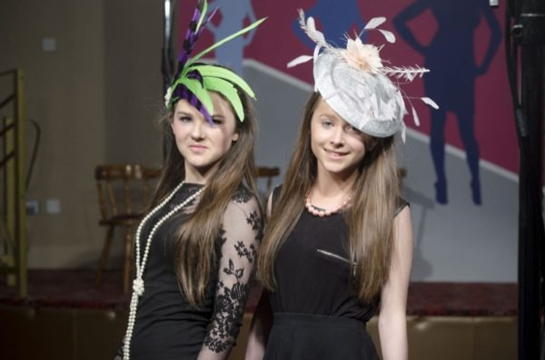 Desmond College Students Modelling at another successful Annual Fashion Show 2014