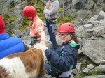 Desmond College Students on their Trip to the Burren 2014