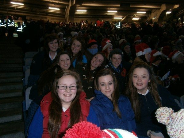 Support for Desmond College's traditional music band Draíocht at the All Ireland Talent Finals