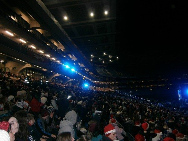 The crowd in the Helix watching the 2014 All Ireland Talent Search Finals