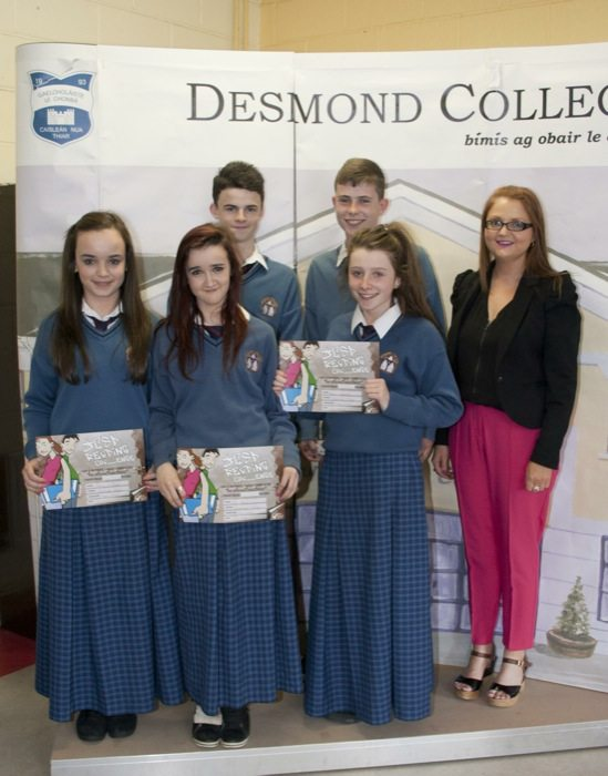 Desmond College Student Awards 2014 for First and Second Years