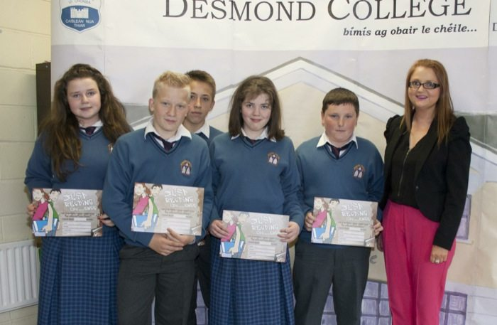 Desmond College : Second Year and First Year Awards 2014